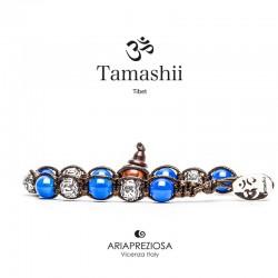Tamashii - Ruota Preghiera Agata Blu