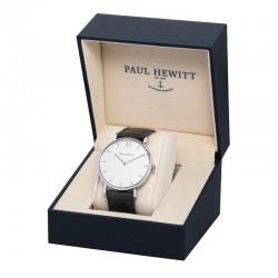 Paul Hewitt - Sailor White Sand Argentato Pelle nero