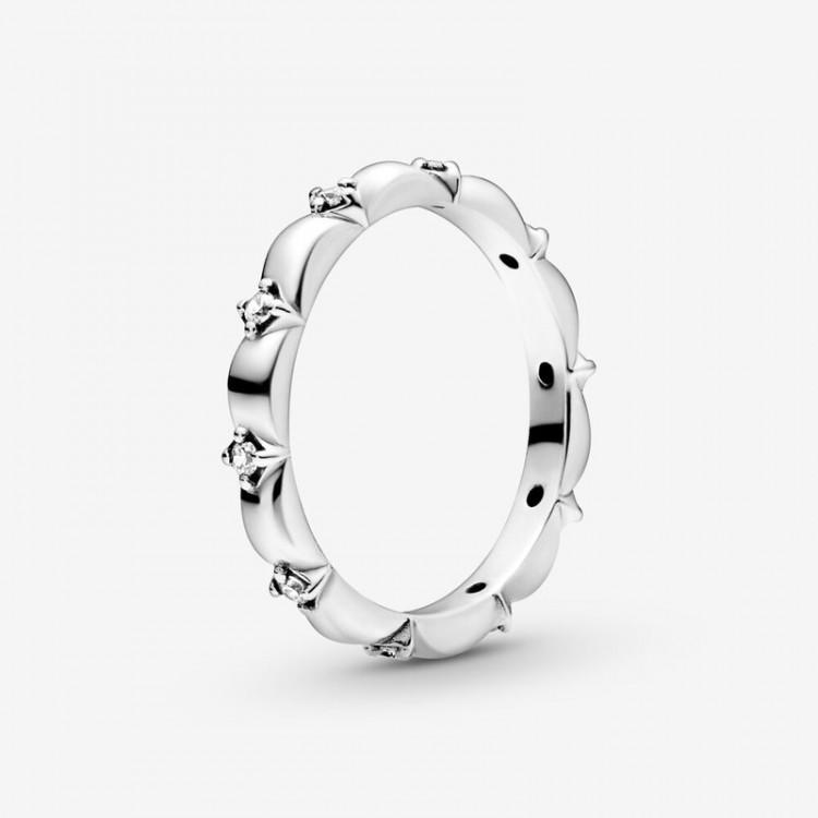 Pandora - Anello A Fascia Petali Di Fiore