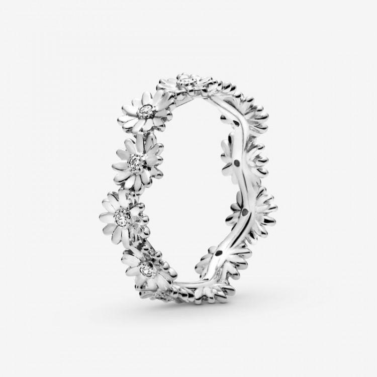 Pandora - Anello A Corona Margherita Scintillante