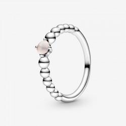 Pandora - Anello Rosa Cipria Decorato Con Sfere