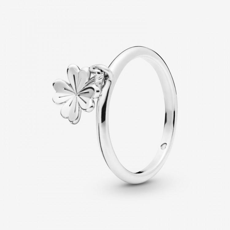 Pandora - Anello Quadrifoglio Portafortuna