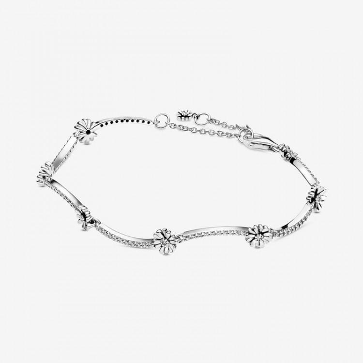 Pandora - Bracciale Margherita Scintillante