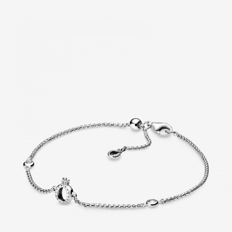 Pandora - Bracciale O Coronata Scintillante