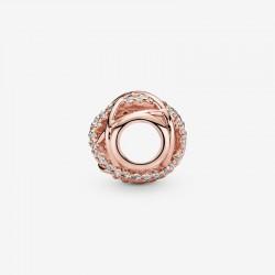 Pandora - Charm Linee Intrecciate E Scintillanti