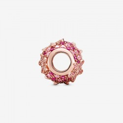 Pandora - Charm Margherita Con Pavé Rosa