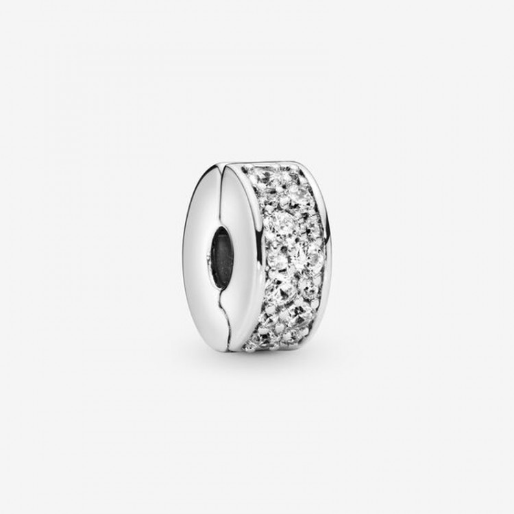 Pandora - Charm Clip Pavé