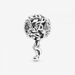 Pandora - Charm Note Musicali Openwork