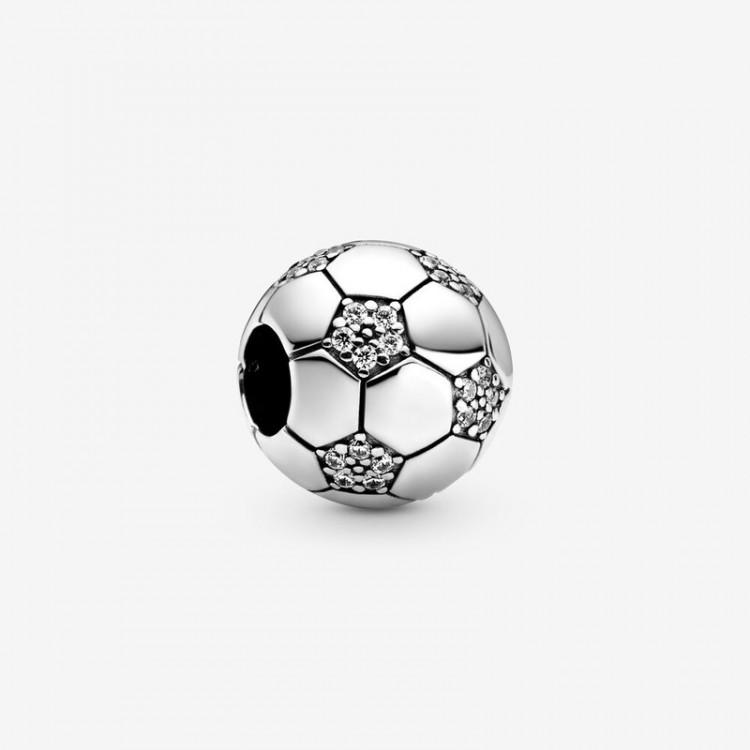 Pandora - Charm Pallone Da Calcio Scintillante